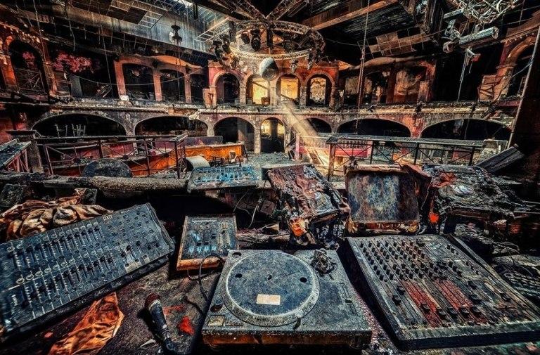 burned decks