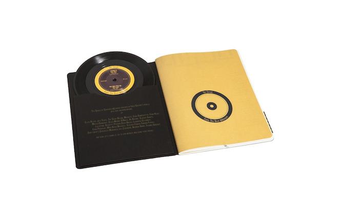 vinyl notebook