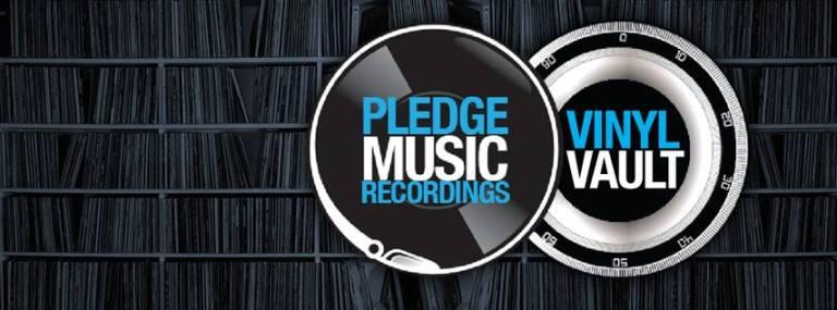 pledgemusic vinyl vault
