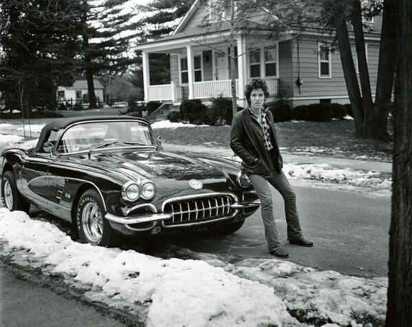 springsteen and car