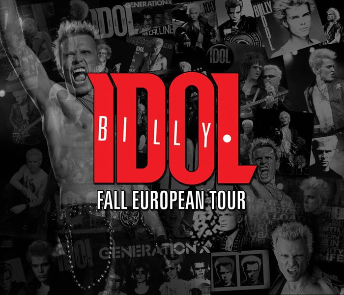 billy idol fall tour