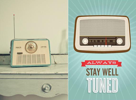 Vintage-Radio-Blue