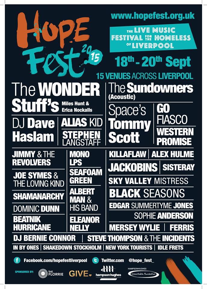 hope fest bands