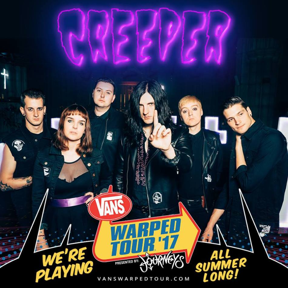 creeper warped