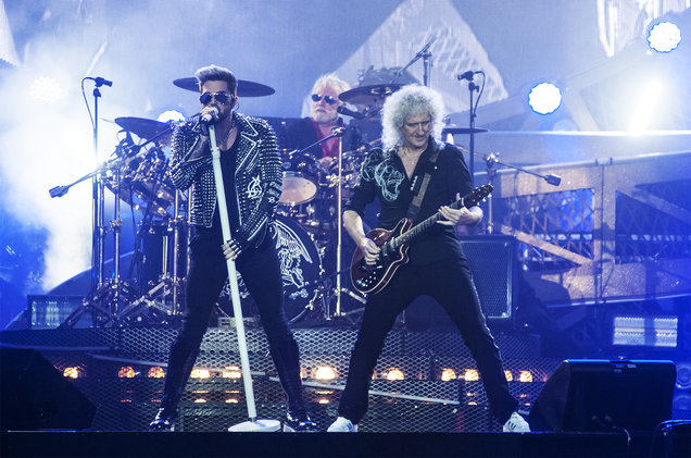 Adam-Lambert-Brian-May-Roger-Taylor-Queen-isle-of-wight-festival-2016-june-billboard-1548