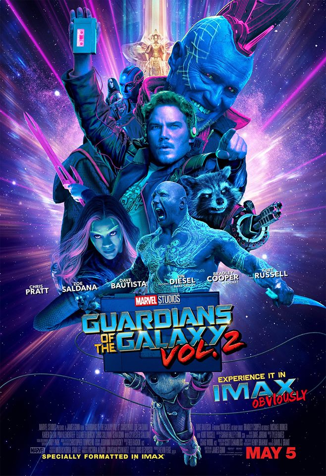 gotg 2 poster