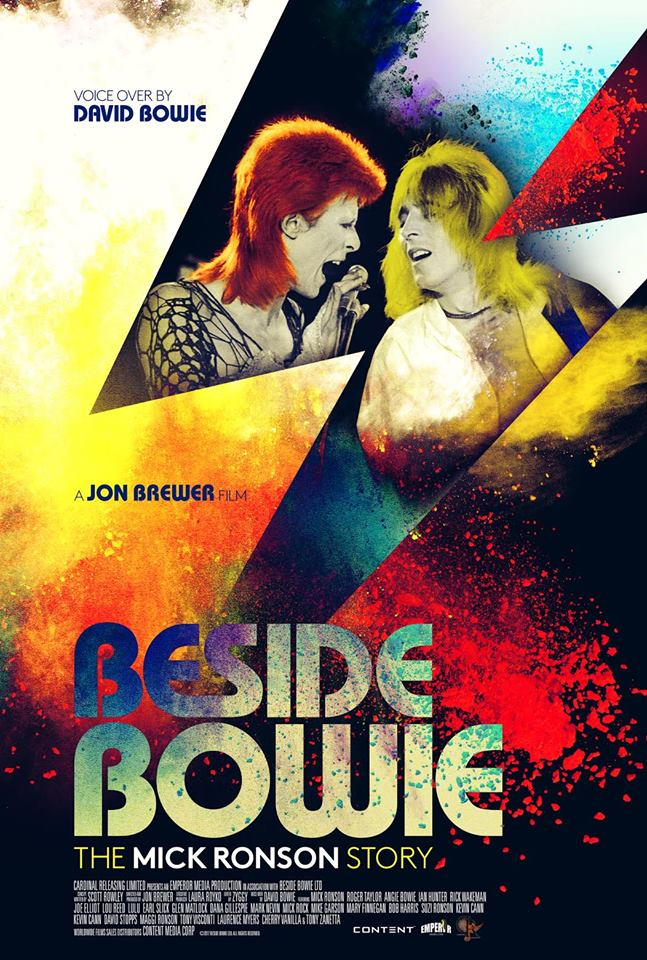 beside bowie mick ronson